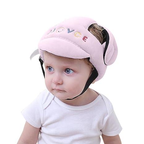 Per - Caschetto protettivo morbido e traspirante per proteggere la testa di  neonati e bambini con 941737c4f1ff