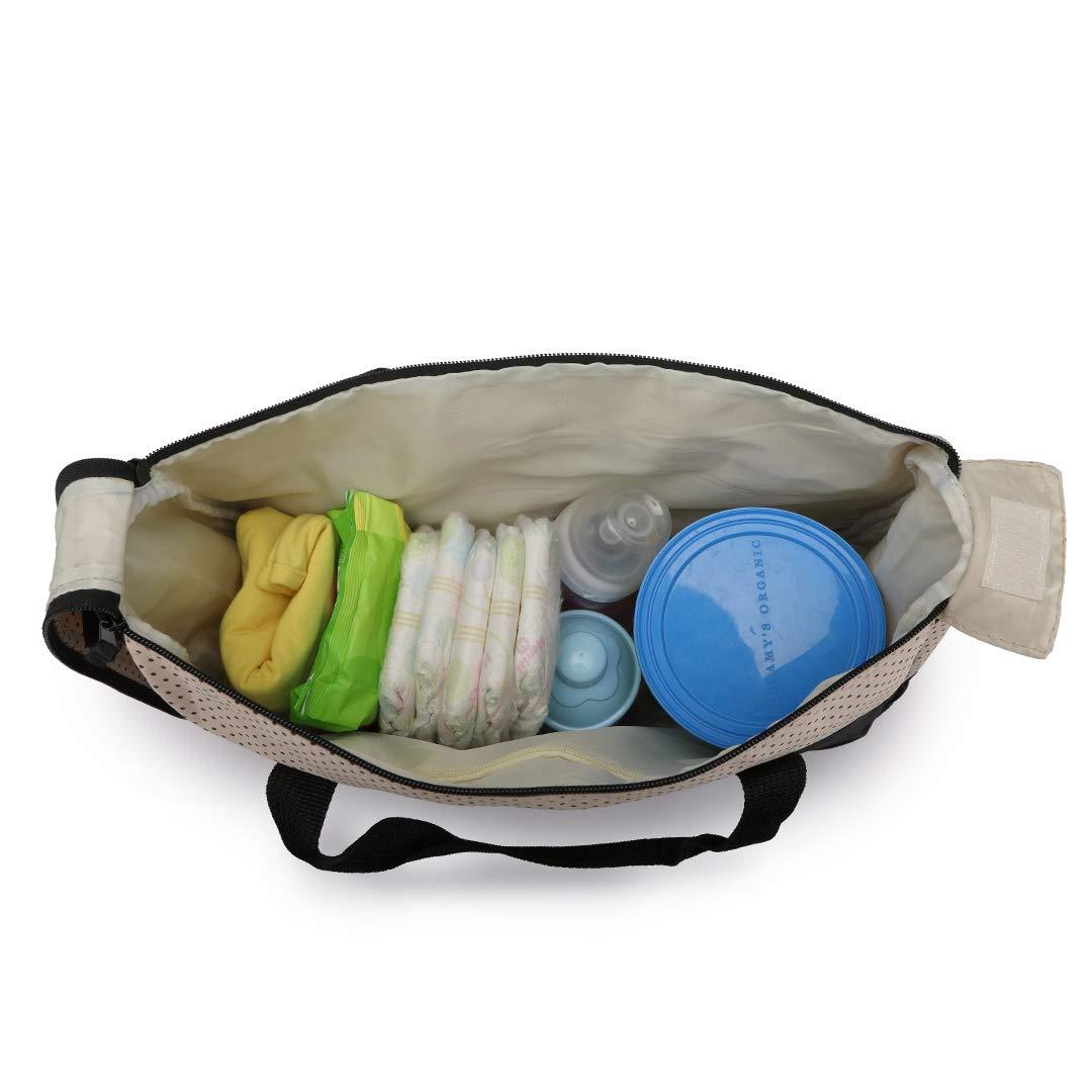 Blau Kono Baby Wickelrucksack Wickeltasche mit Wickelunterlage Multifunktional Gro/ße Kapazit/ät Babytasche Reisetasche Wickelunterlage f/ür Unterwegs wasserdichtes leichtes 5pcs
