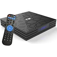 Android TV Box 9.0 with 4GB RAM 64GB ROM RK3318 Quad Core Cortex-A53 T9 Android Box…