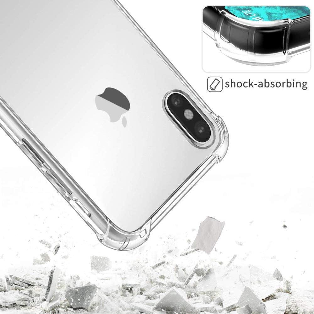Suhctup H/ülle Kompatibel mit Motorola Moto G7 Power Handyh/ülle TPU Bumper Silikon Transparent Weiche Schlank Schutzh/ülle Handytasche Gummi D/ünn Flexibel Case Handy Soft Back Cover Handytasche