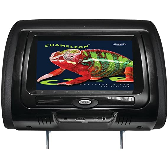 chameleon dvd player wiring diagram simple wiring diagramamazon com concept  cld 703 7 chameleon headrest monitor