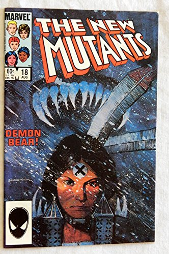 new-mutants-18-nm18-one-comic-book-marvel-comics-1984-a-used-comic-book-graded-90-first-printing-fir