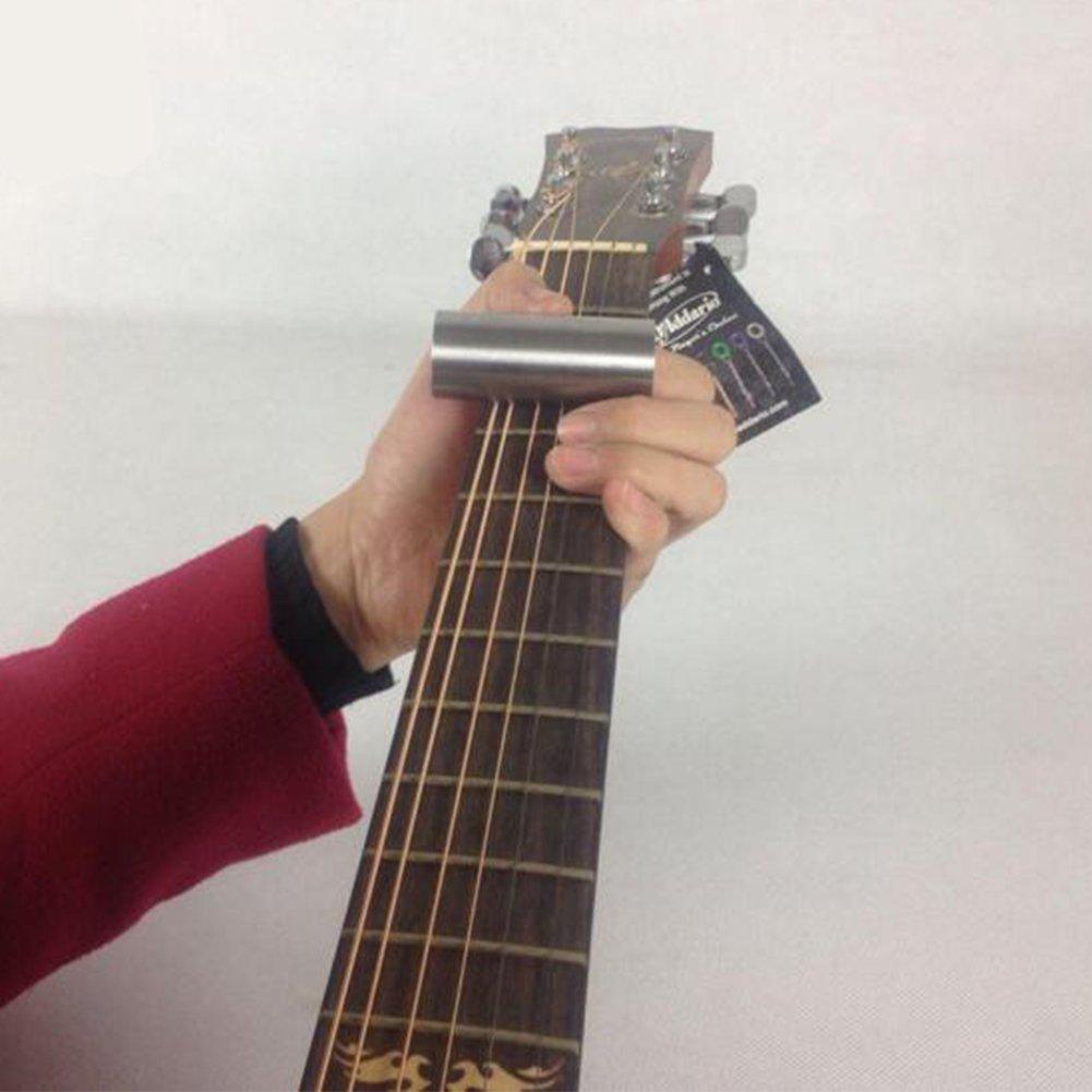 Ditale di protezione per chitarra anti scivolo e anti dolore in acciaio 70mm