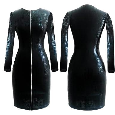 Amazon Thinkmax Plus Size Sexy Lingerie Pvc Latex Bodysuits