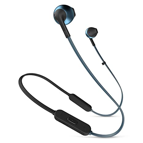 Amazon.com  JBL T205BT Wireless in-Ear Headphones with Three-Button ... 1d648ccc11