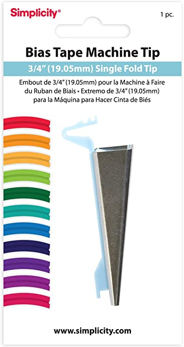 Simplicity - Embudo para bies en máquina de Coser (Aprox. 19 mm ...