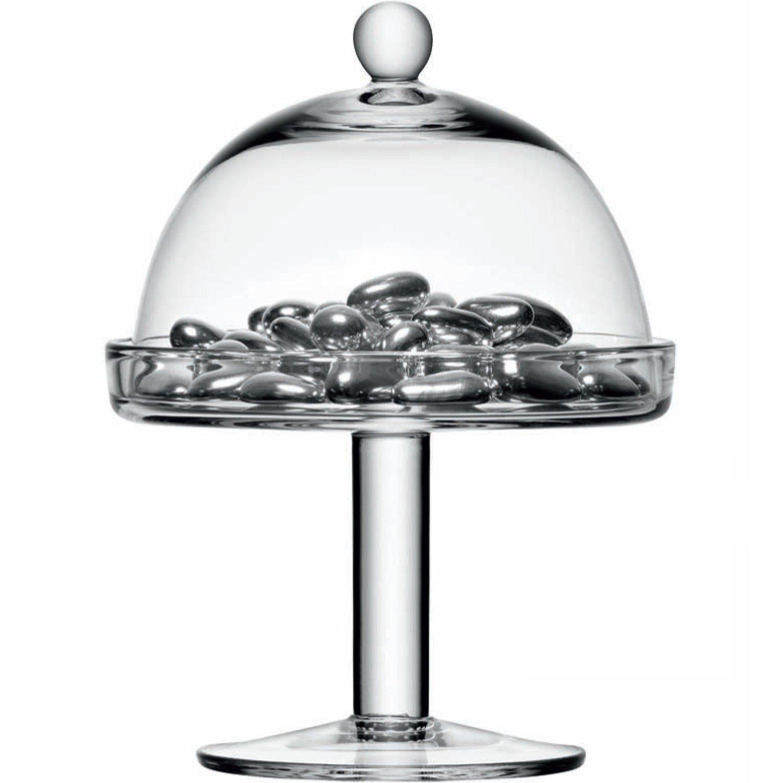 Transparente LSA International 15 cm Vienna Soporte para Tartas y de c/úpula de