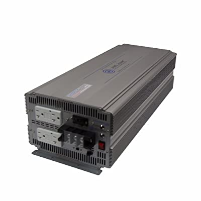 AIMS Power (PWRIG500024120S 5000W 24V Pure Sine Power Inverter Industrial: Automotive [5Bkhe1002507]