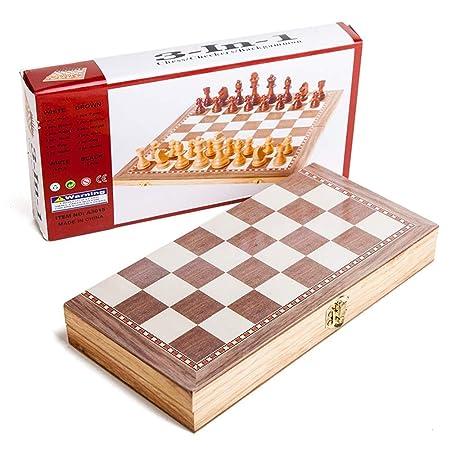 Juego de mesa plegable de ajedrez Juego de ajedrez Juego de ...