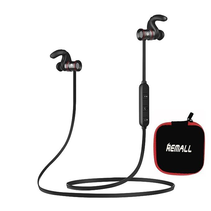 Remall Auriculares inalámbricos magnéticos Bluetooth Deporte In ...