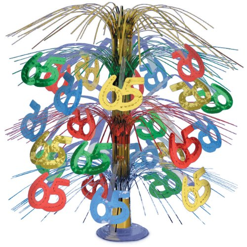 Decoration Cascade (65 Cascade Centerpiece (multi-color) Party Accessory  (1 count) (1/Pkg))