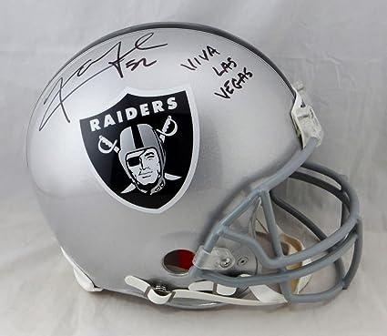 Riddell Oakland Raiders Proline Authentic Football Helmet
