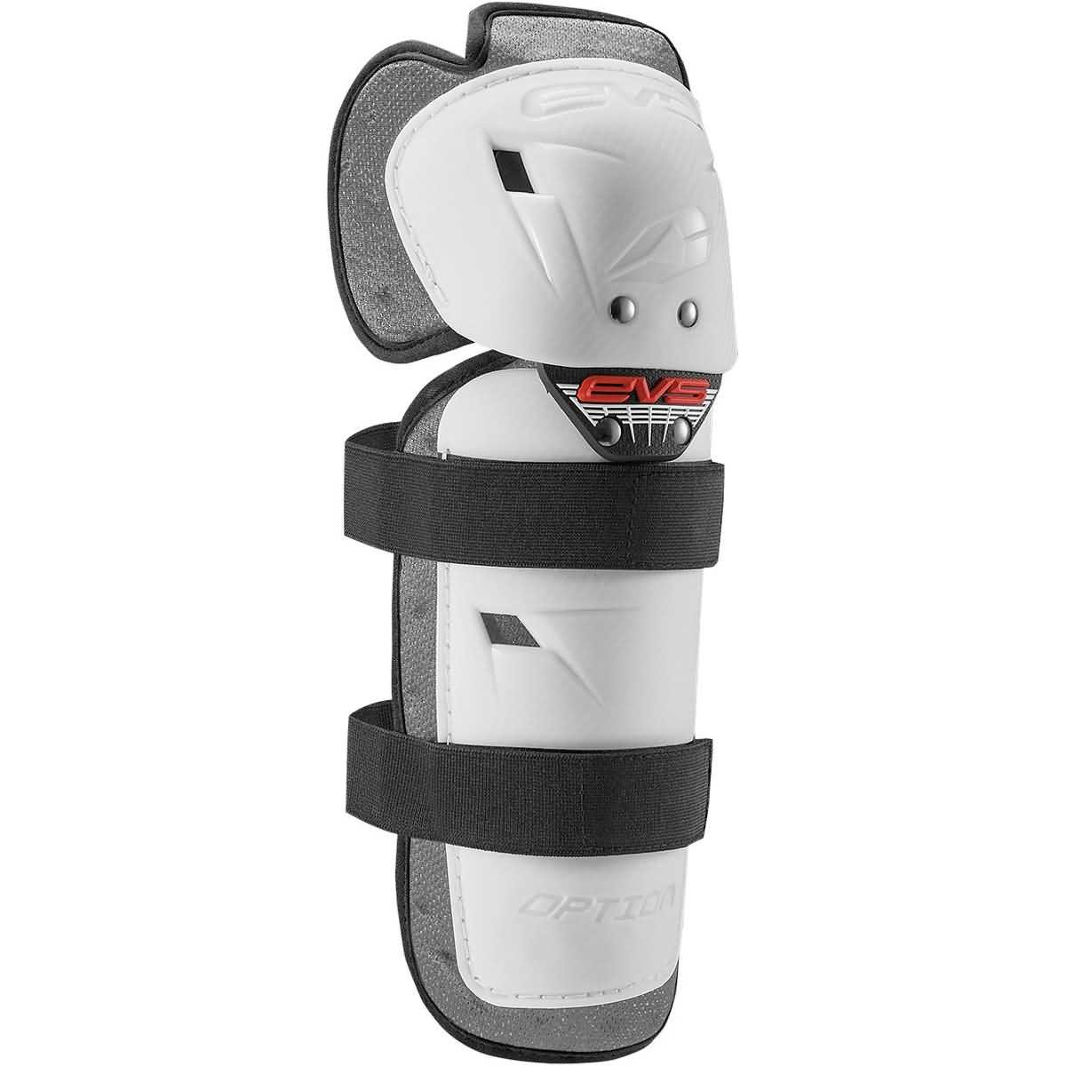 EVS 2016 Option Adult Knee Guard Off-Road Motorcycle Body Armor - White/One Size