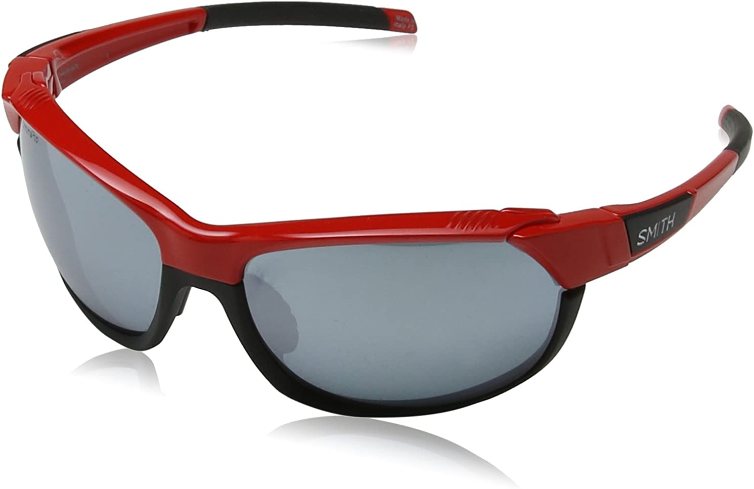 Smith Overdrive/N XB LZJ 61 Gafas de sol, Rojo (Cherry Red/Sl Silver), Unisex Adulto