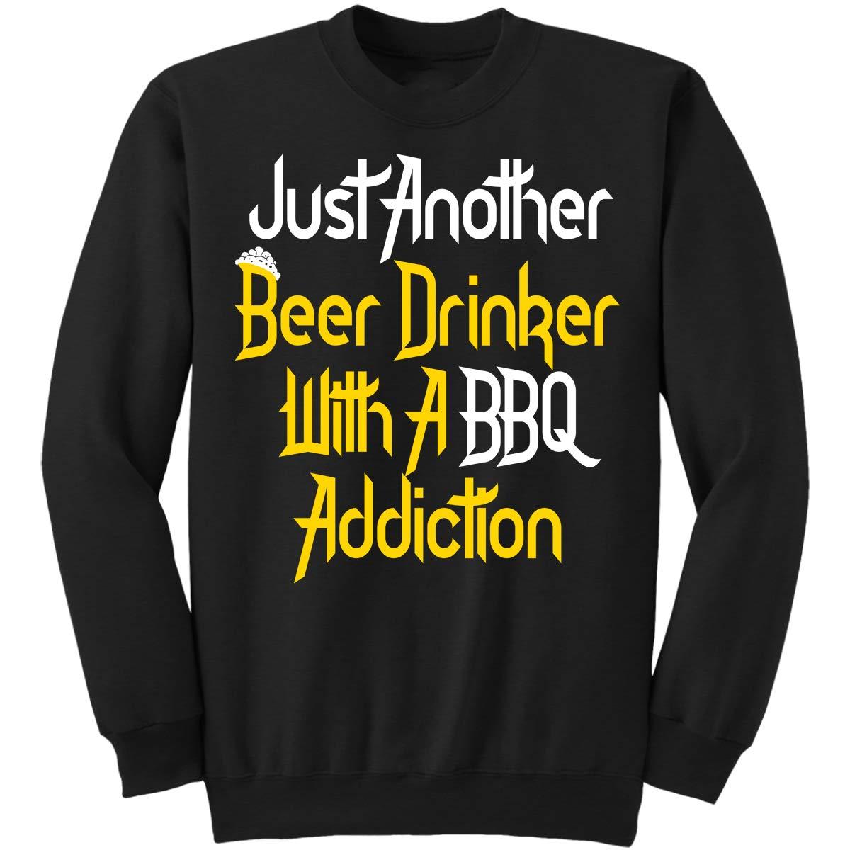 DoozyGifts99 Funny BBQ Beer Drinkers A BBQ Sweatshirt