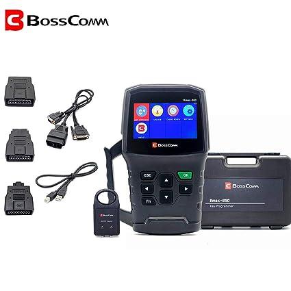 Amazon com: 2019 Bosscomm KMAX850 auto car Key Programmer