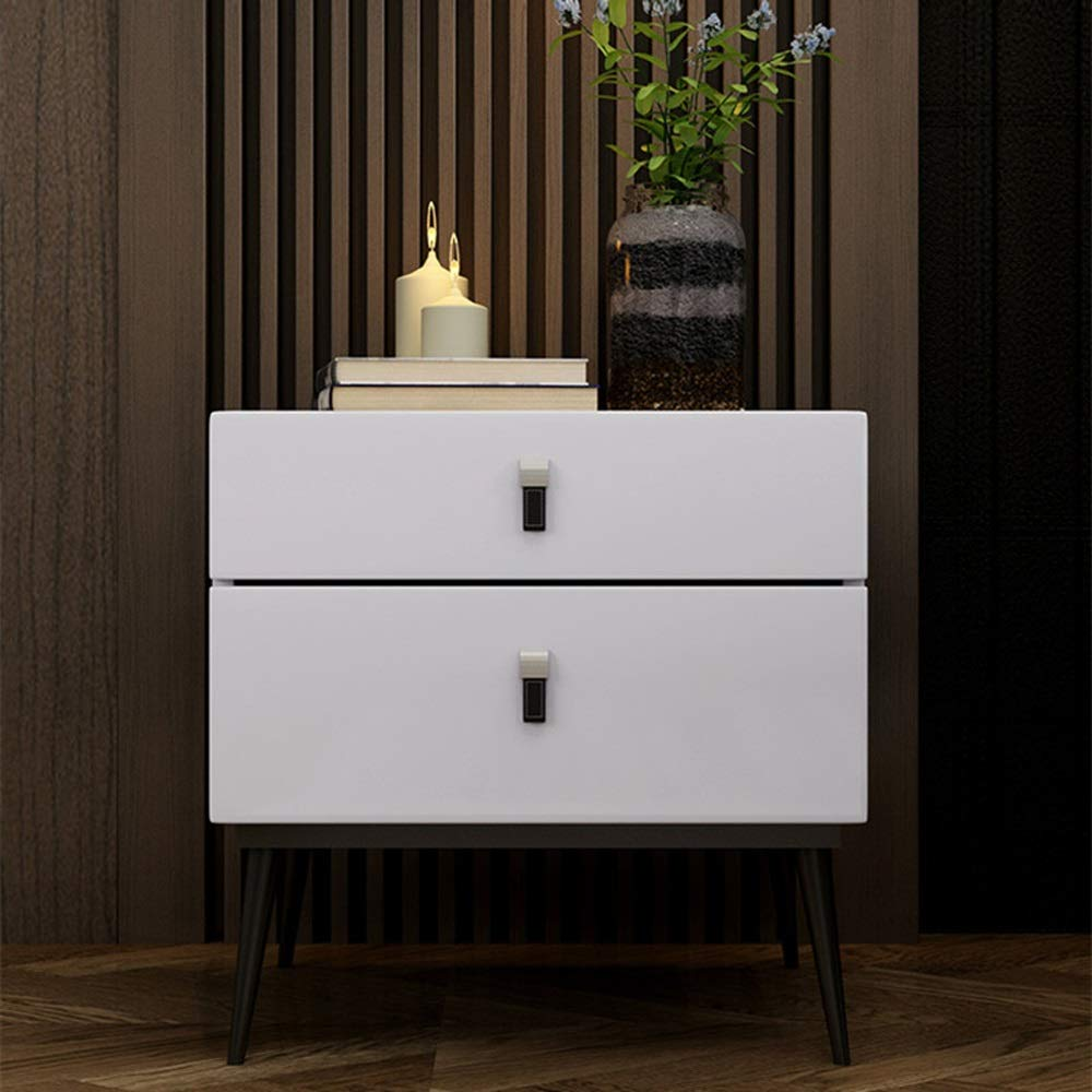 Amazon Com Cl Bedside Table Modern Minimalist Double