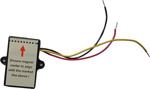 TOPENS - Interruptor de límite para abridor de puerta corredera CK700: Amazon.es: Bricolaje y herramientas