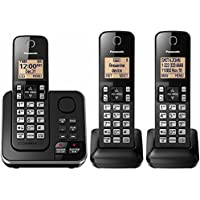 Panasonic DECT 6.0 PLUS 3-Handset Expandable Cordless Phone