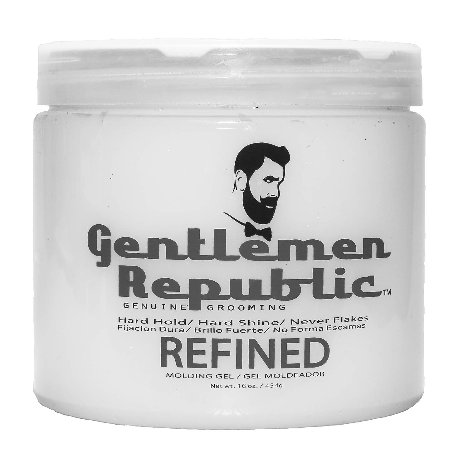 Gentlemen Republic Refined Molding Hair Gel 16 oz by Gentlemen Republic