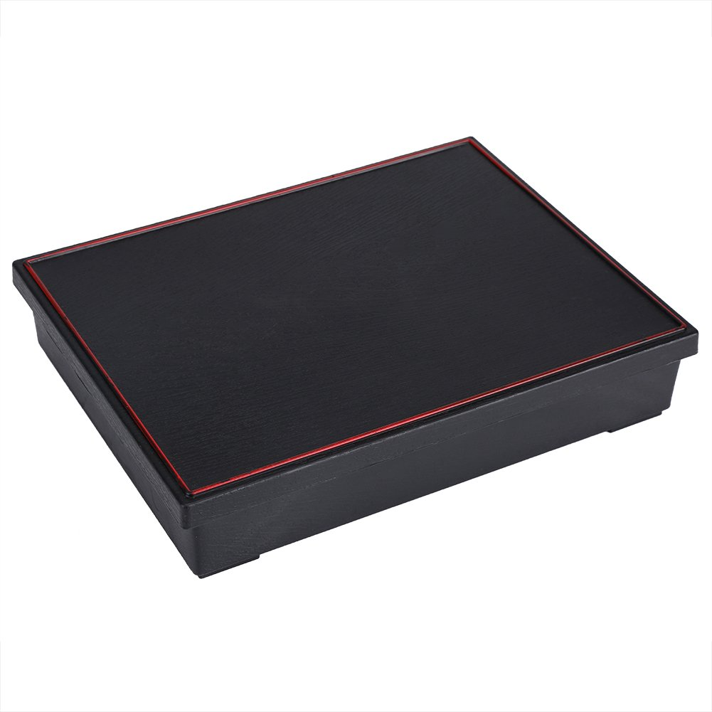 Japanese-style Bento Boxes Wood Food Container with 5 Compartments Tableware Bowl for Picnic Sushi Office