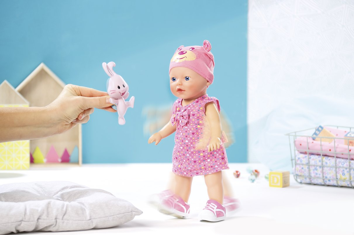 Amazon.com: My Little baby Born Walks Doll: Toys & Games