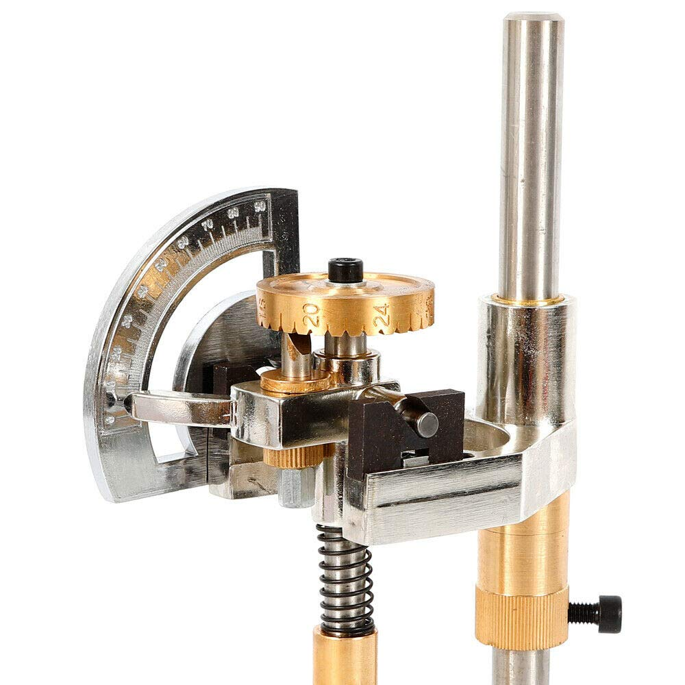Gem Faceting Machine Jewel Angle Polisher 32//64//72//96 Jade Grinding Faceted Manipulator Tool USA Stock 72 Scale