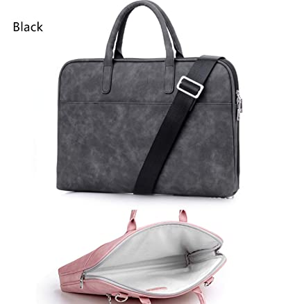 1299bae7d5cb Fashion PU Leather Laptop Bags for Women 14 15 15.6 17.3 inch for MacBook  air 13