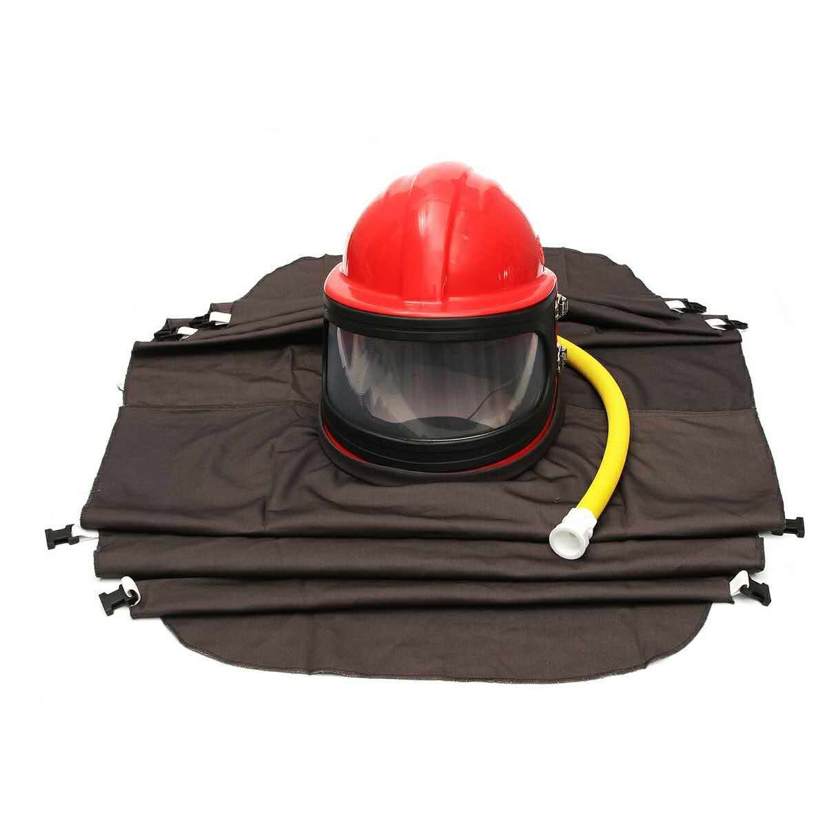 Southern Chem AIR FED Safety Sandblast Helmet Sand Blast Hood Protector for Sandblasting