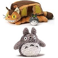 "GUND Totoro 6"" Plush Bundle with 10"" Cat Bus House"