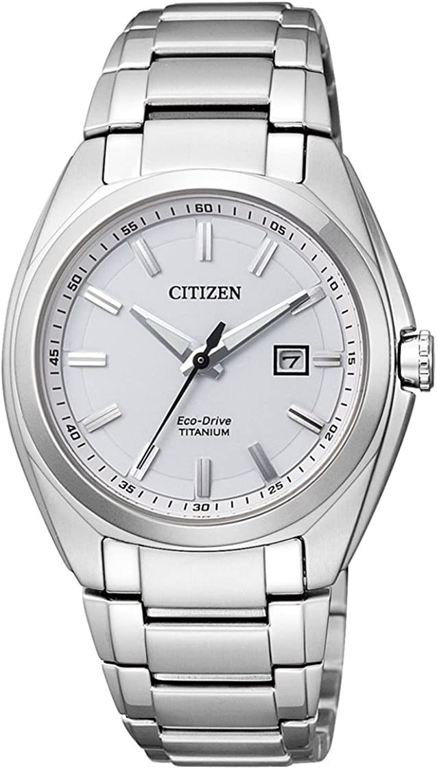 Citizen EW2210-53A - Reloj analógico de Cuarzo para Mujer, Correa de Titanio Multicolor