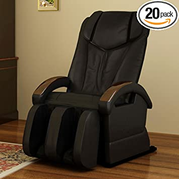 Elite Optima Massage Chair BEST BUY 5 Year Warranty (Black)