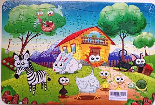 [Toys Educational Leaning preschool Cartoon Jigsaw Puzzle (Zebra)] (Star Wars Kids Costumes Diy)