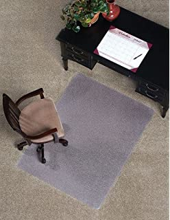 Amazoncom Lorell Low Pile Rectangular Chairmat 46 by 60 Inch