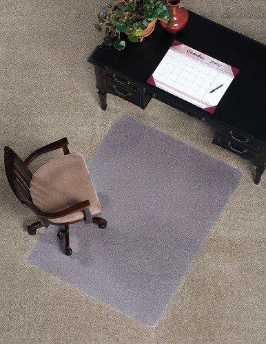 Mat Depot Standard Chair Mat, Beveled Edge, 46x60 inches, 1/8'' thick, Clear by Mat Depot