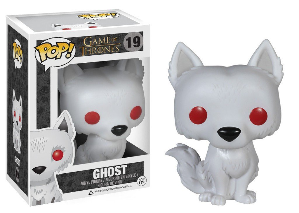 Game of Thrones Pop! Vinyl - Flocked Ghost #19 Funko