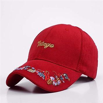RangYR Ladies Gorras de béisbol Letras Doradas Bordados en Gorras ...