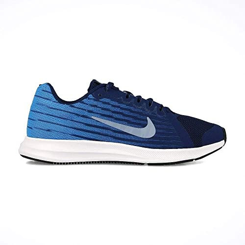 e23e5cb7b1e Nike Boy s Downshifter 8 Blue Void Indigo Fog Photo Blue Size 5 M US ...