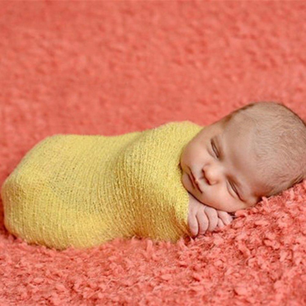 ZUMUii Butterme Reci/¨/¦n Nacido Beb/¨/¦ de fotograf/¨/ªa Props Larga Ripple Wrap Baby Fotogr/¨/¢fico Requisiten gef?lligkeiten