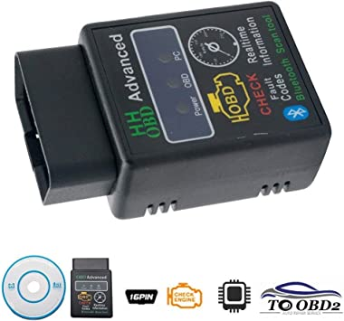 Car Bluetooth 4.0 Scanner Mini OBD2 Diagnostic Detector For IOS Android M5BD 01