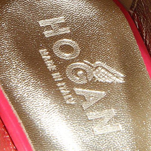 Zeppa Women 200 7095F Shoes H spuntata Hogan Decollete Fuschia CINTURINO Scarpa Donna YFqAT