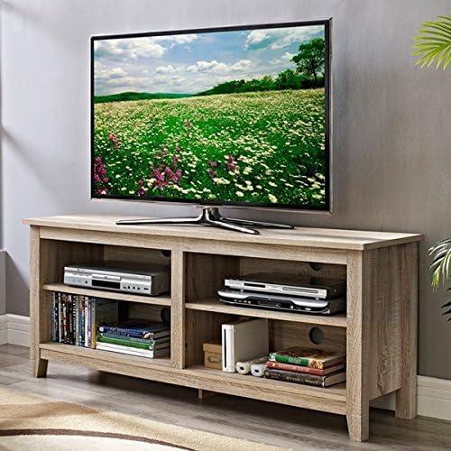 Muebles de Esquina Natural para Almacenamiento de televisores de 147 cm con Soporte para Centro de Entretenimiento Plasma: Amazon.es: Juguetes y juegos