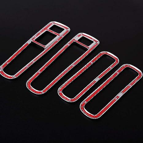 Tür Aufbewahrungsbox Für Jaguar Xe Rahmen Dekoration Zierleisten Aufkleber Abs Chrom Auto Innenraum Modifikations Zubehör Auto