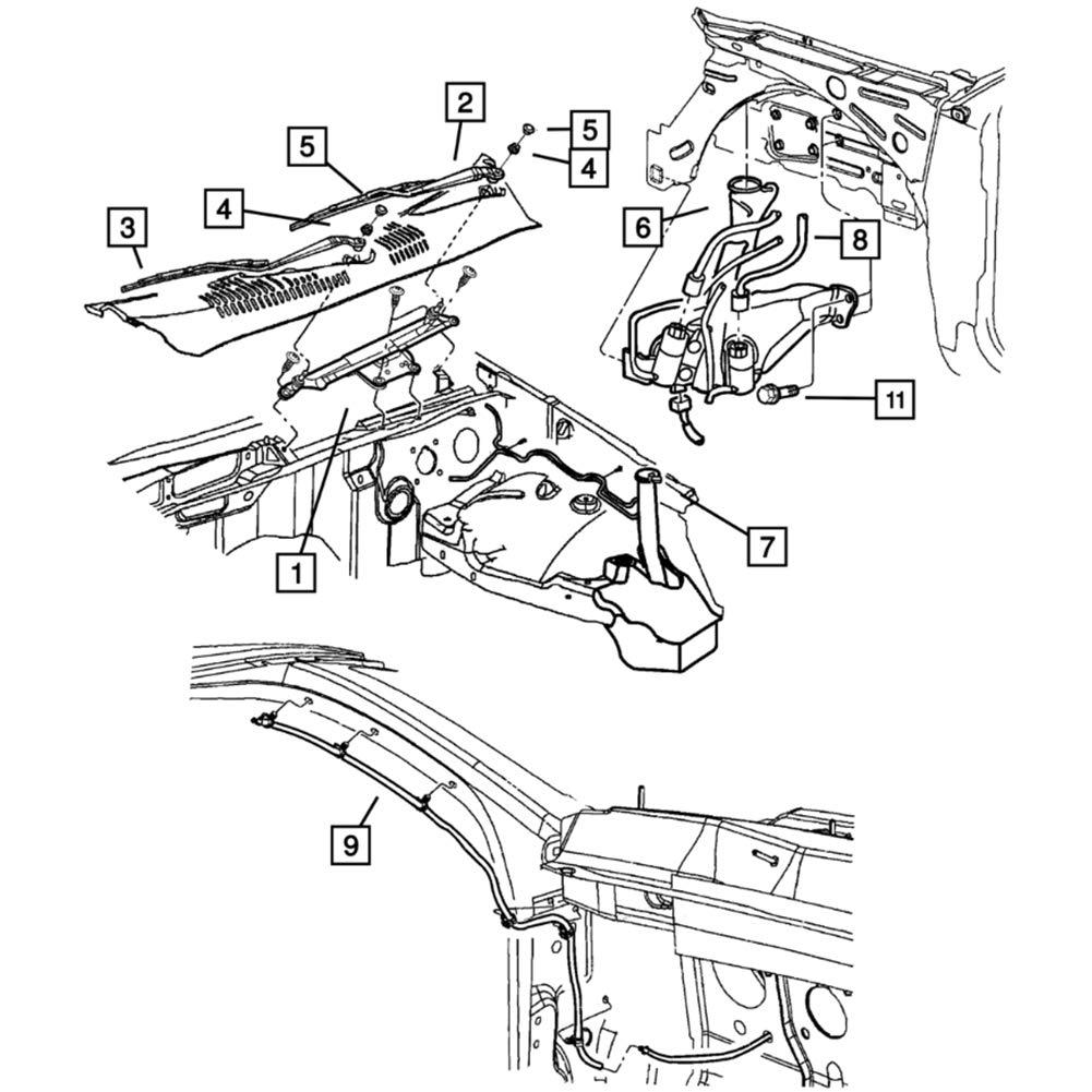 1984 malibu wiring diagram database Wagon Car amazon front windshield washer nozzles wiper spray kit single 1984 malibu brake booster 1984 malibu
