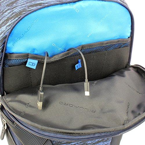 Gris gris Azul Mochila azul Casual Coleos Piquadro fwqTtvx