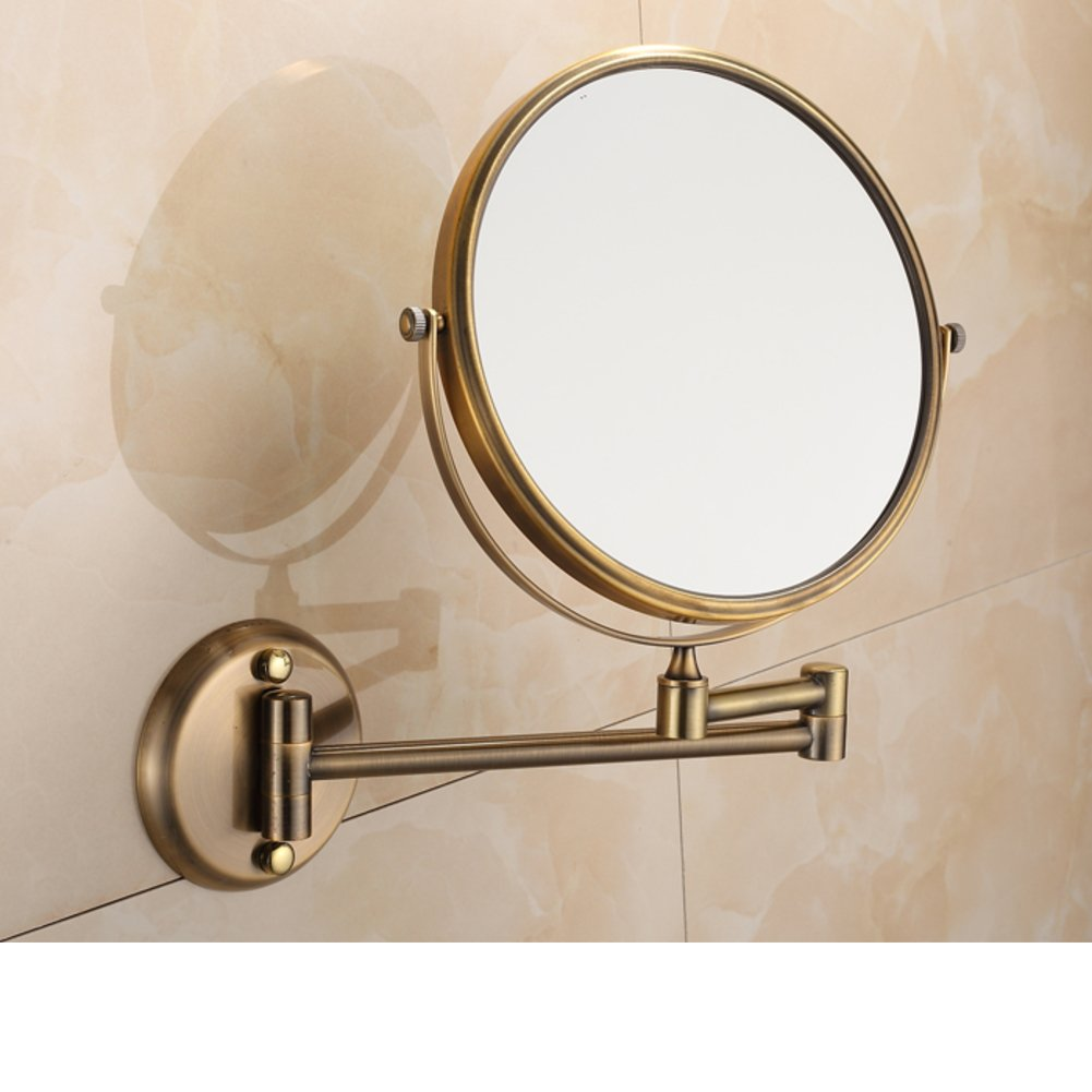durable service bathroom vanity mirror telescopic wall mounted folding cosmetic mirror bathroom
