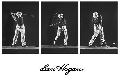 Amazon Com Ben Hogan Strobelight Swing Sequence Prints