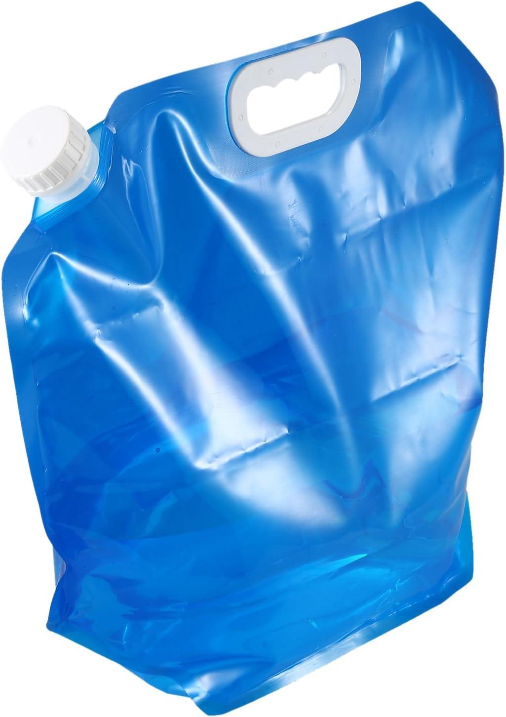 Moligh doll Bidon deau Pliable 5 litres Bleu