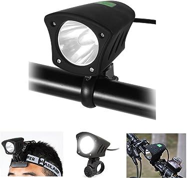 LED Luz Delantera Bicicleta Impermeable 5 Modos Luces Brillante ...