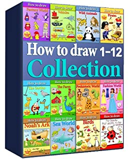 How to draw collection 1 12 over 400 pages kindle edition by how to draw collection 1 12 over 400 pages by offir fandeluxe Gallery